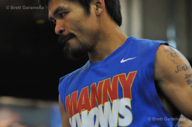 Manny Knows blue