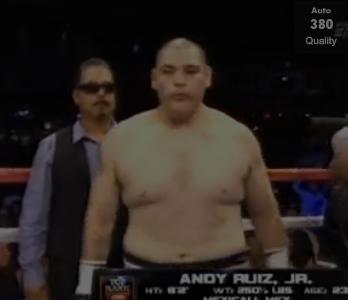 Andy Ruiz Jr 2013