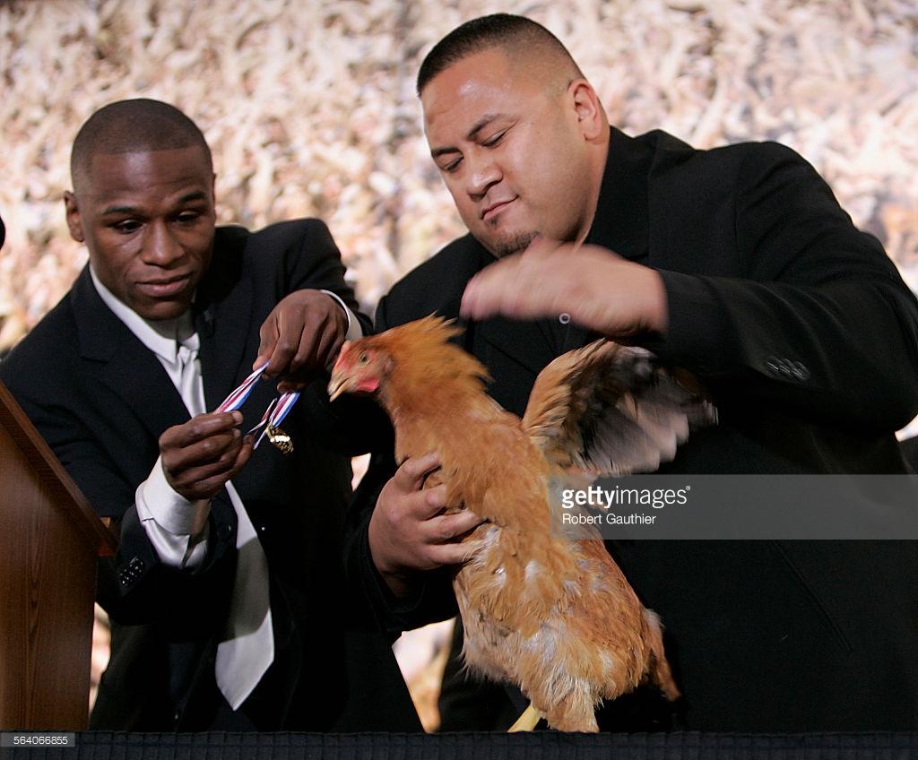 Floyd Chicken Medal